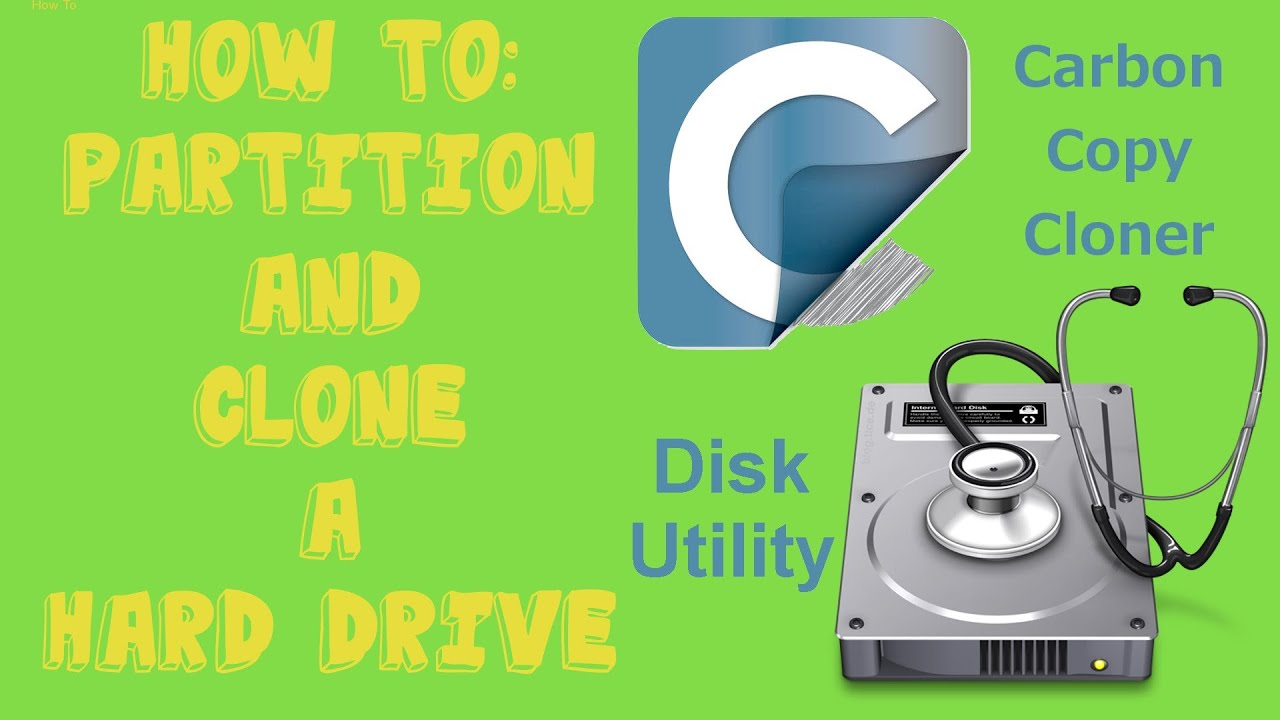 Youtube how to partition a hard drive