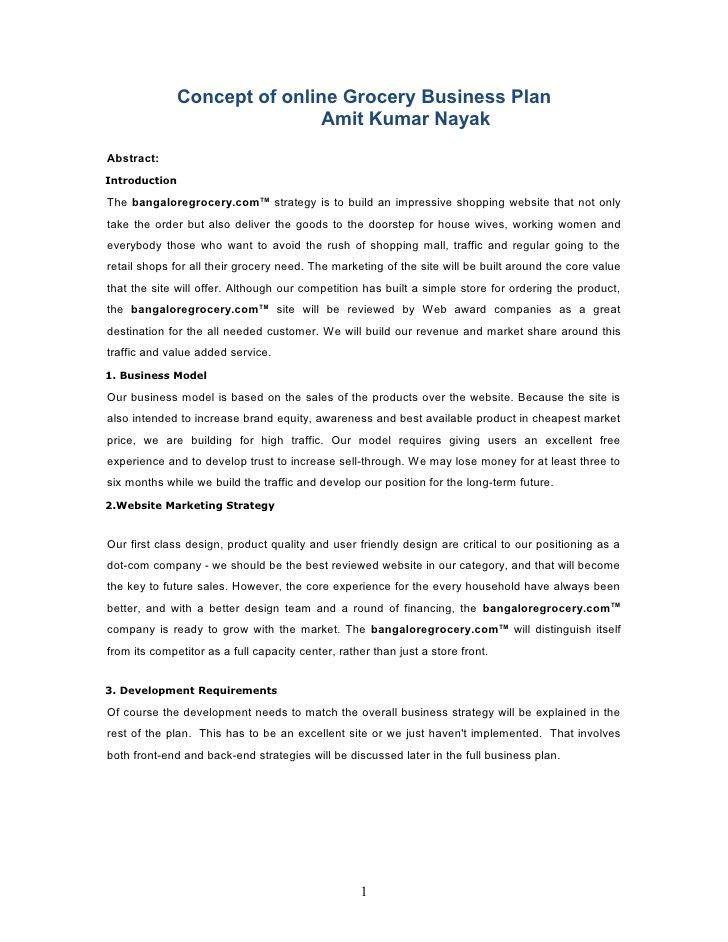 Shopping mall business proposal pdf