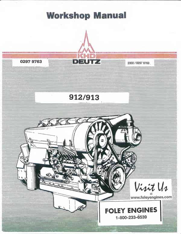 deutz 1011 workshop manual pdf