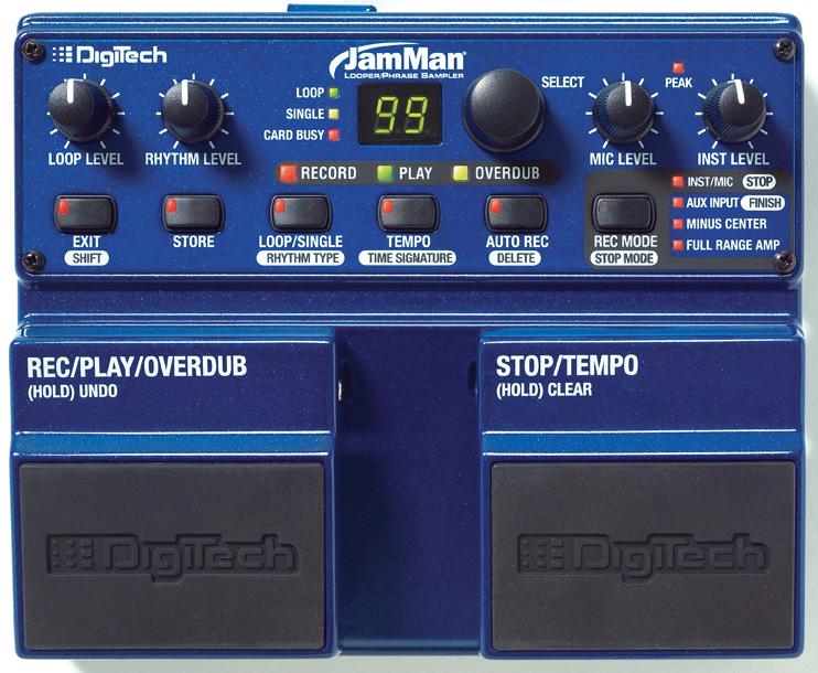Digitech jamman looper phrase sampler manual