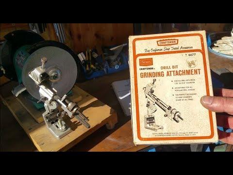 craftsman drill bit sharpener manual