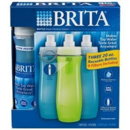 Brita water bottle filter instructions