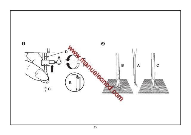 euro pro sewing machine manual