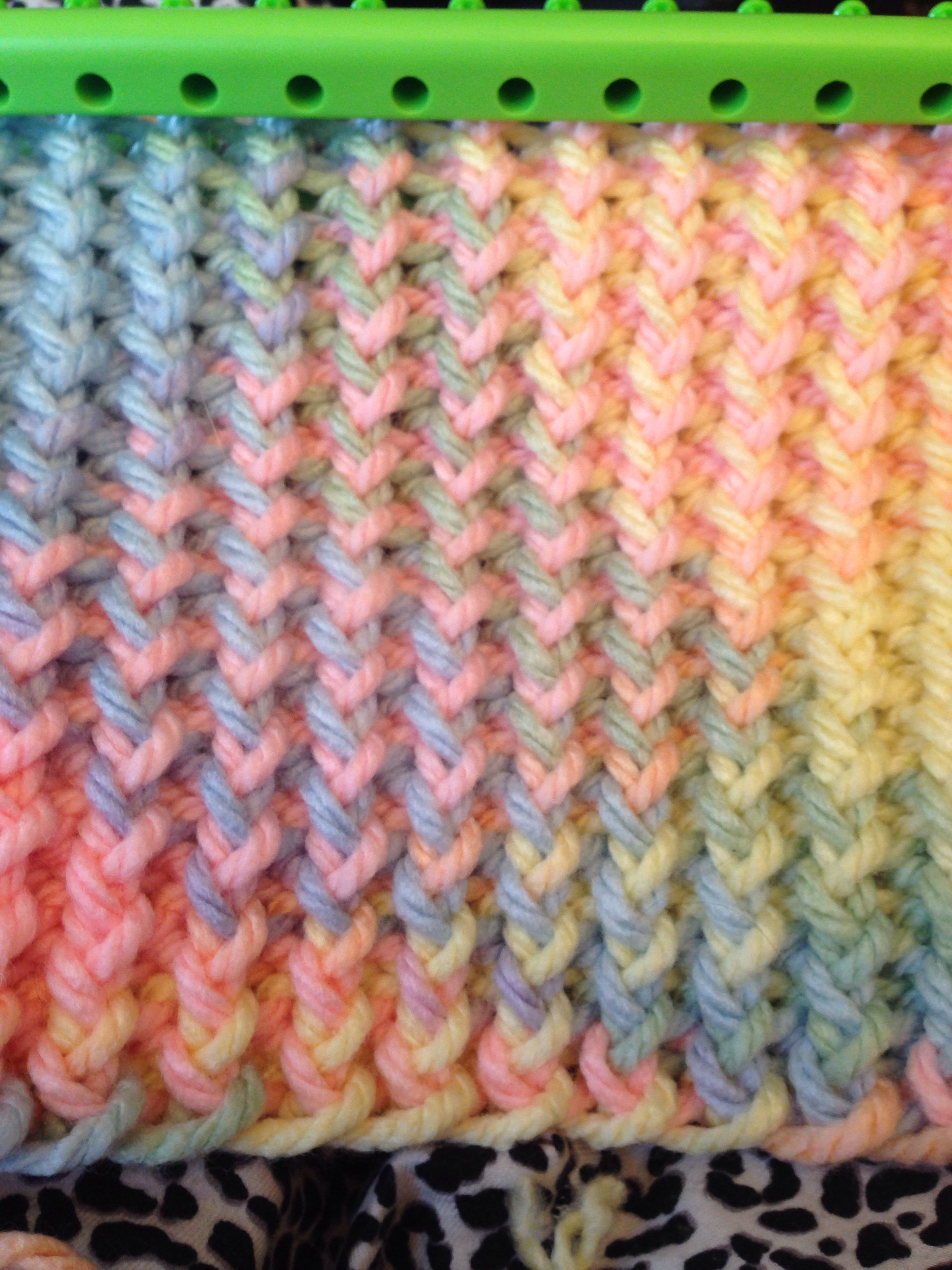 easy knitting loom instructions