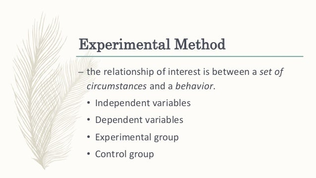 Introduction to experimental psychology pdf
