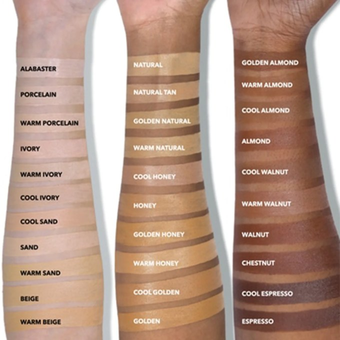 Estee lauder foundation shade guide