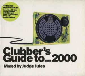 Clubbers guide 08 cd cover