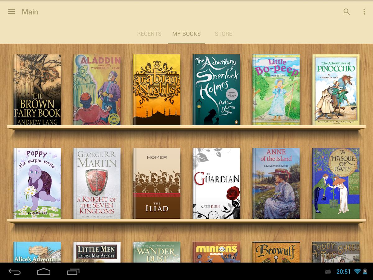Cool reader for android how to add books