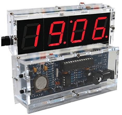 led clock kit instructions