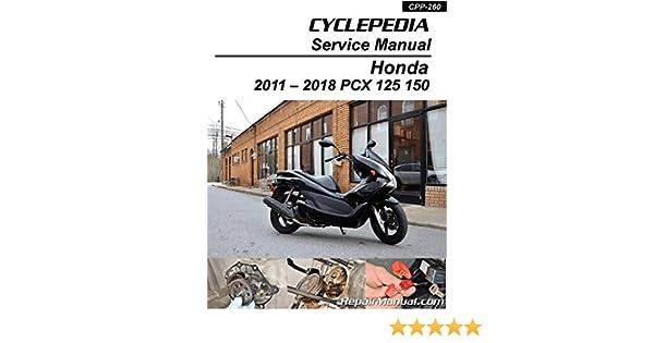 honda pcx 150 service manual pdf