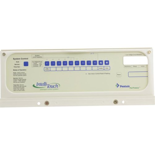 pentair pool control panel manual