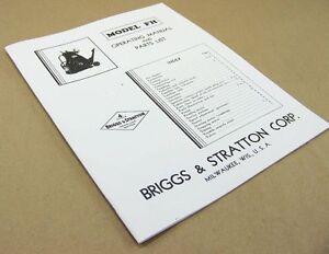 briggs stratton repair manual ce8069