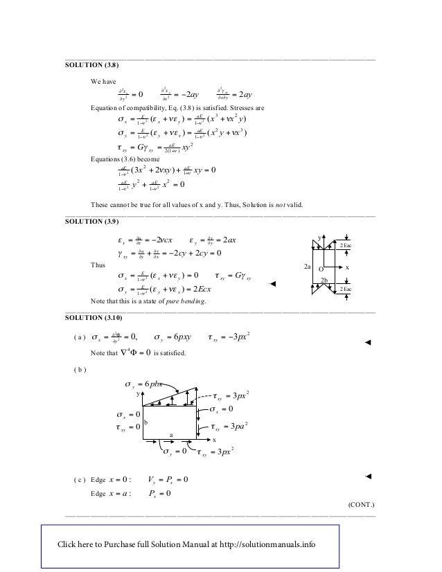 advanced soil mechanics solution manual pdf