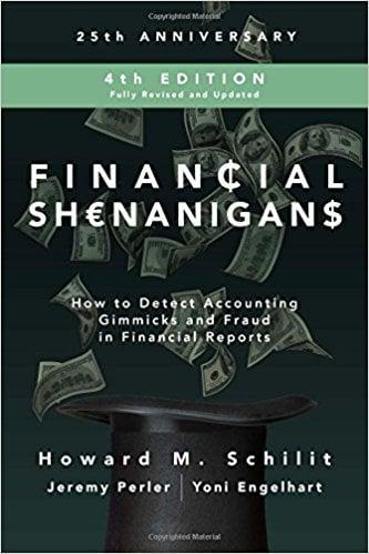 Financial shenanigans 4th edition pdf
