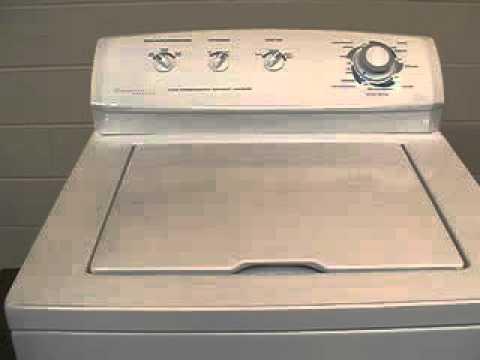 Frigidaire top load washer repair manual