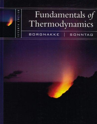 Fundamentals of thermodynamics solution manual 7th edition free