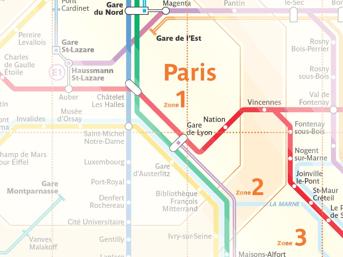 Gare du nord map pdf