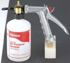 gilmour dial a mix sprayer instructions