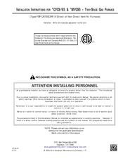 goodman furnace installation manual pdf