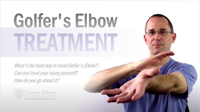 Guidelines after tennis elbow surgery