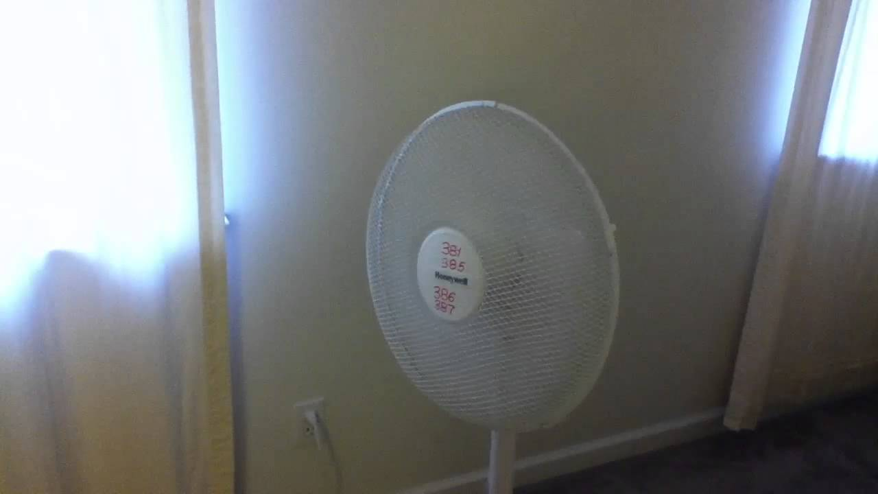 Honeywell how to remove fan stand