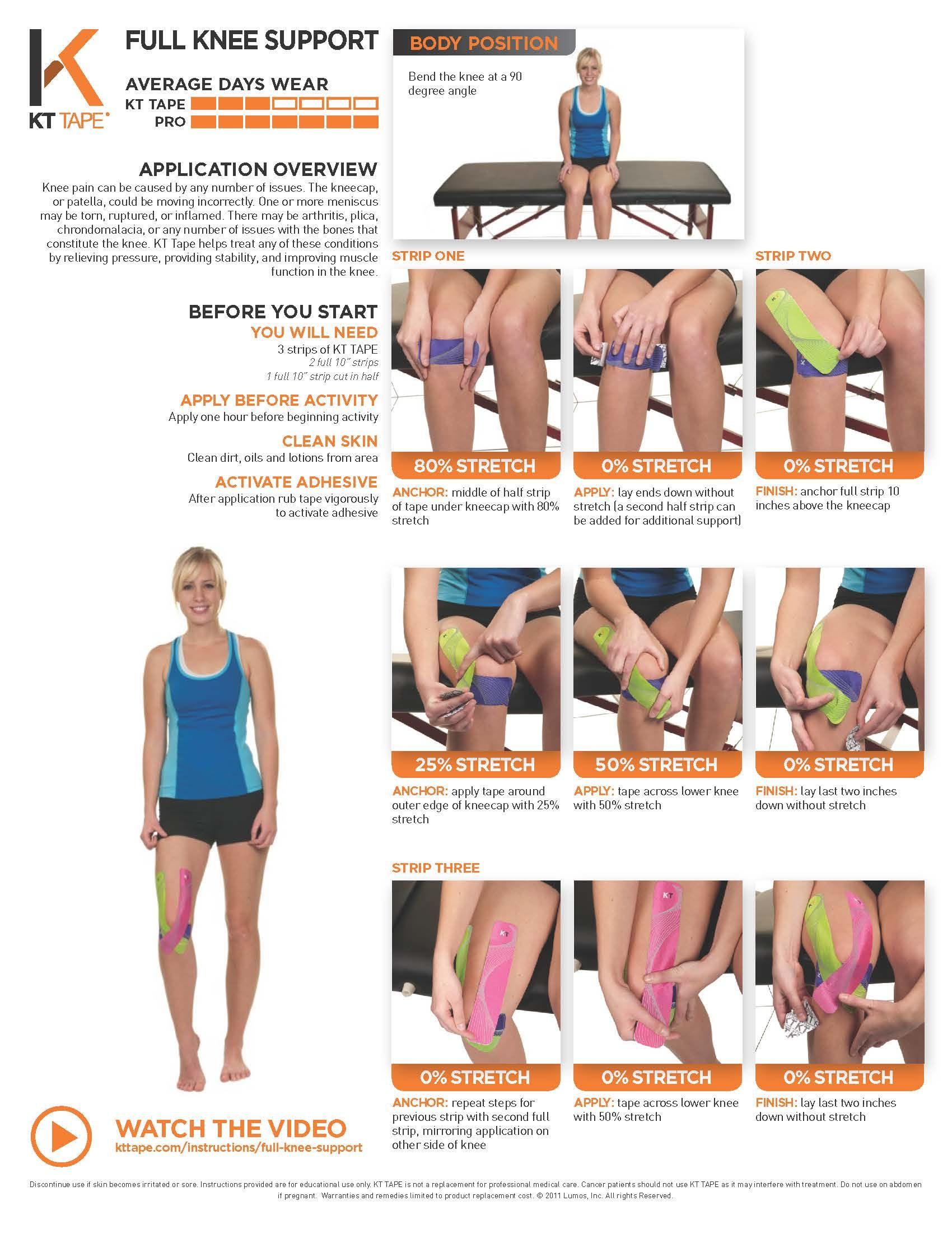 how to strap an achilles tendon instructions