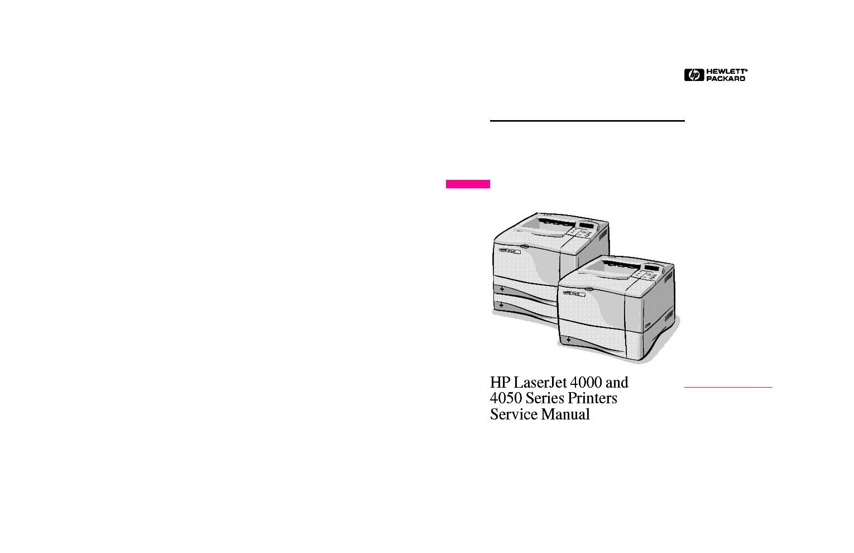 hp laserjet 4050 user manual download