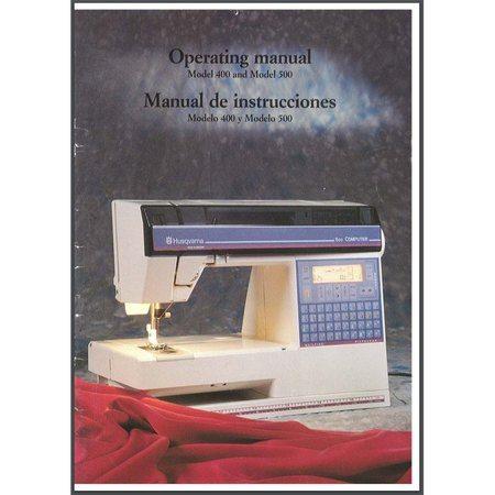Husqvarna 400 sewing machine manual