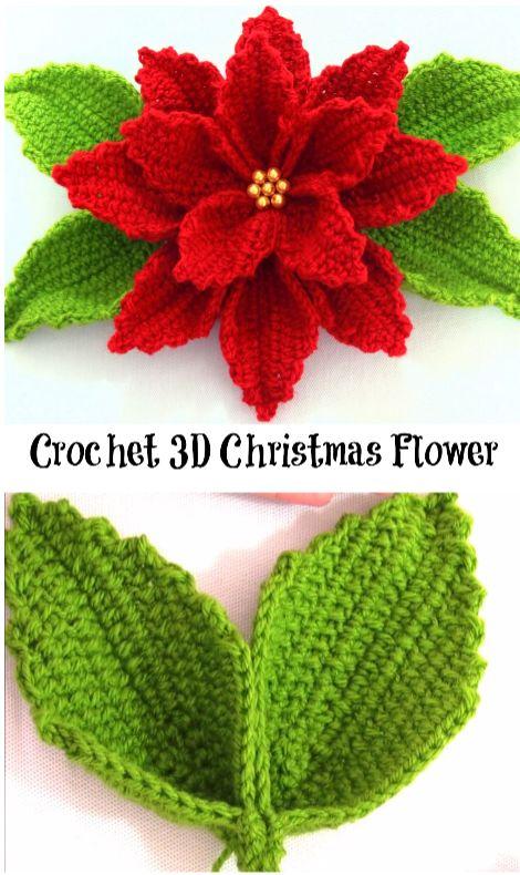 instruction fleur au tricot