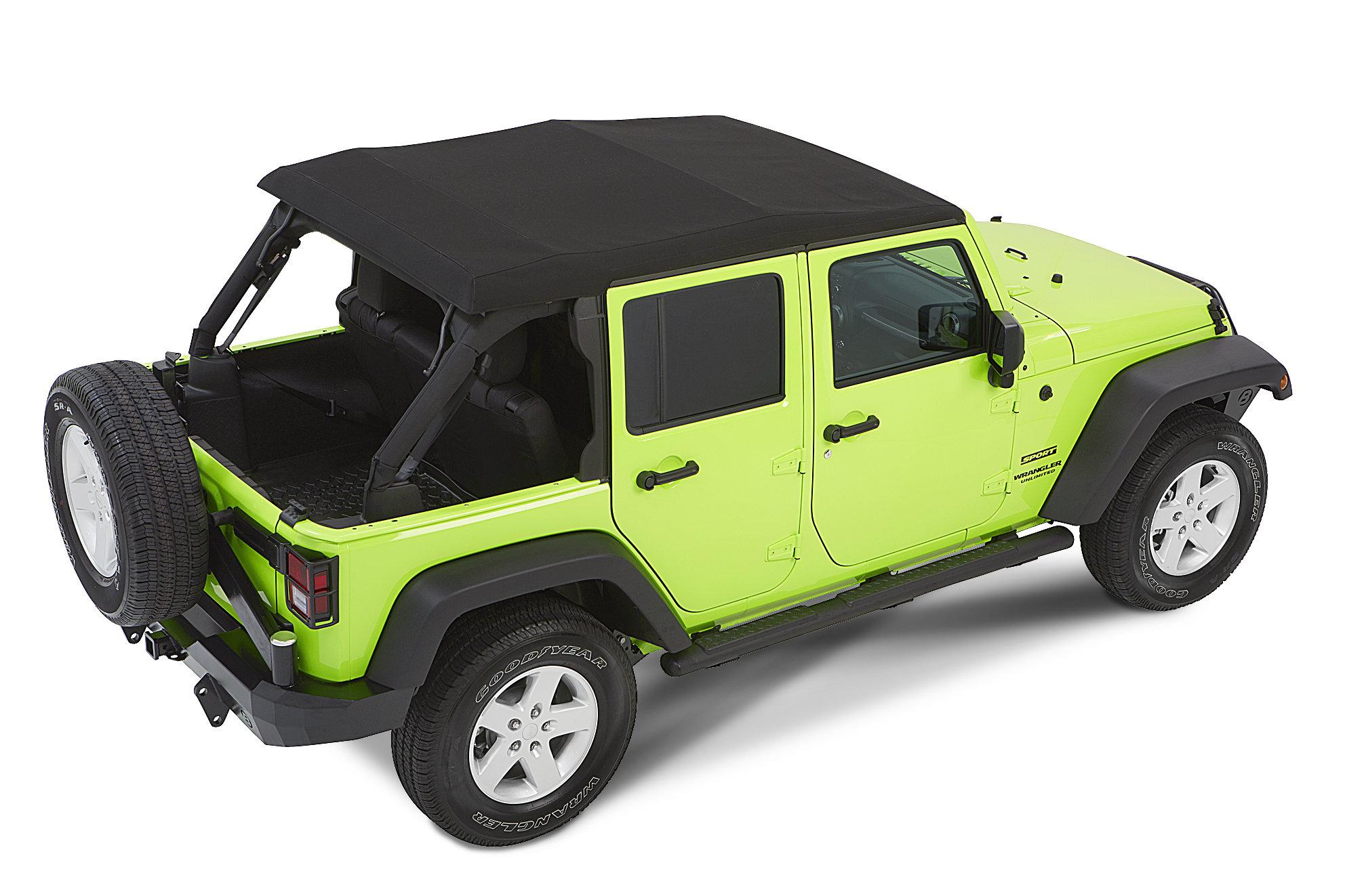 jeep wrangler 4 door soft top installation instructions
