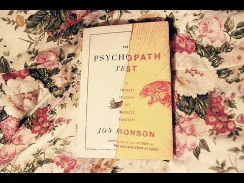 Jon ronson psychopath test pdf