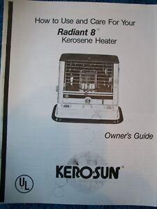 kero sun radiant 40 manual