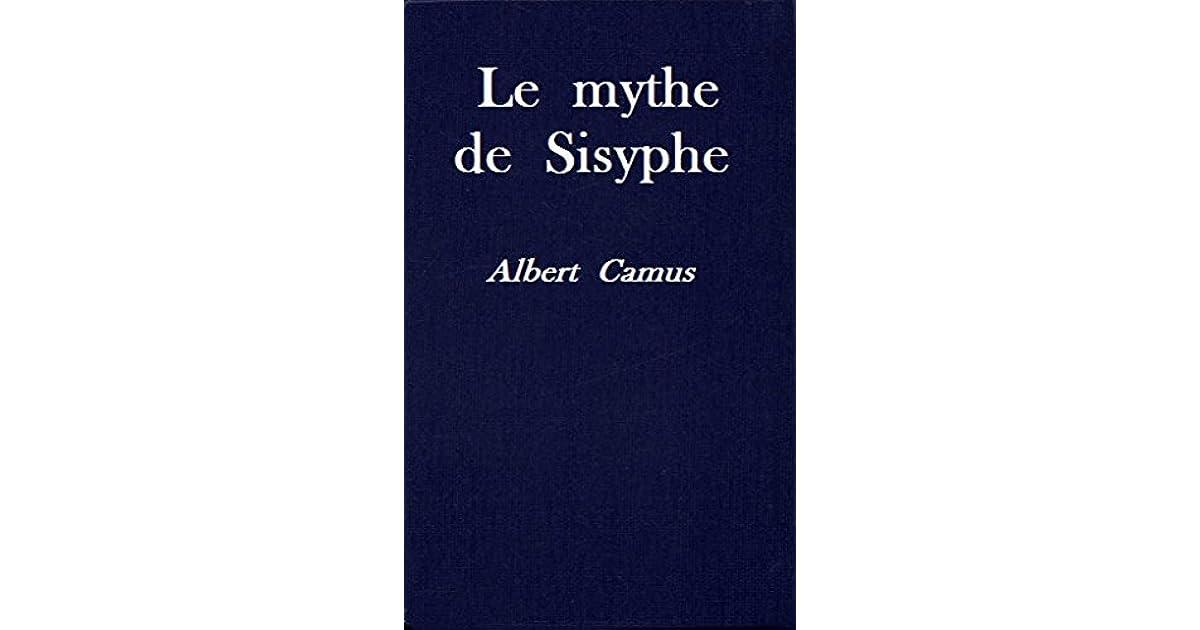 Le mythe de sisyphe albert camus pdf