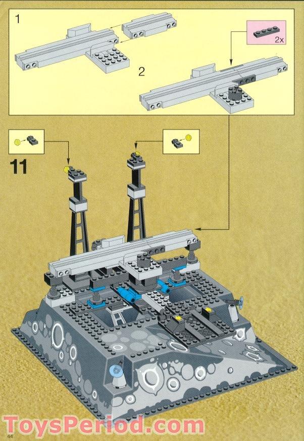 lego droid transport instructions