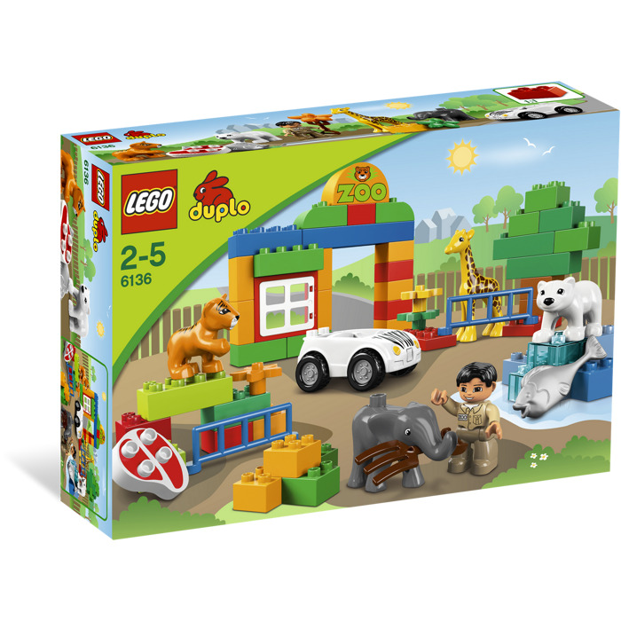 lego duplo my first zoo 6136 instructions