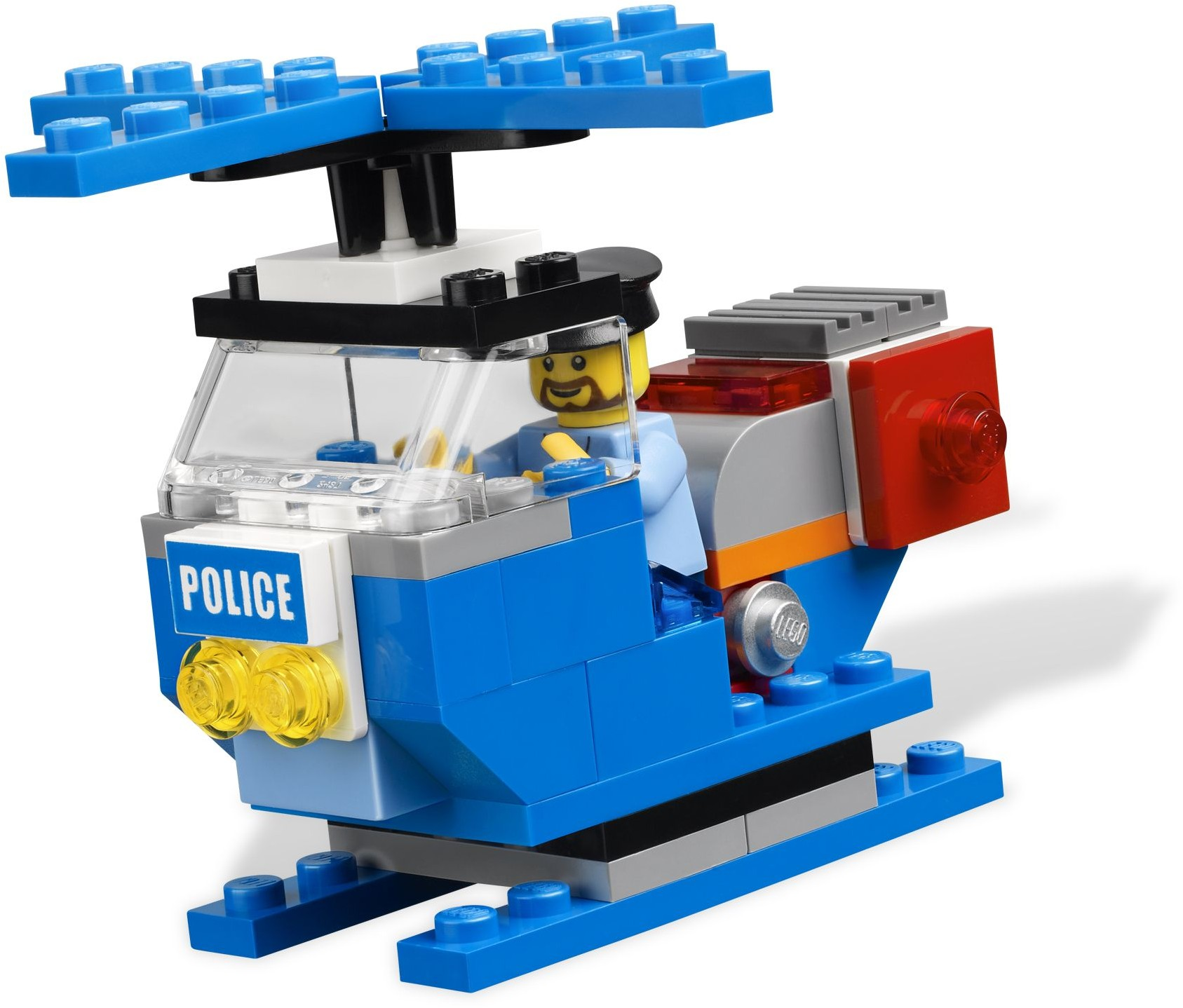 Lego police helicopter instructions 4636