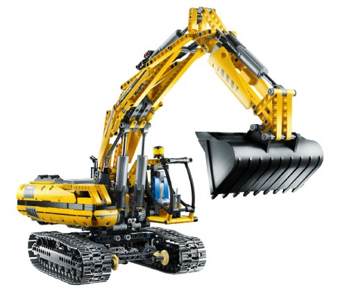 lego technic motorized excavator 8043 instructions
