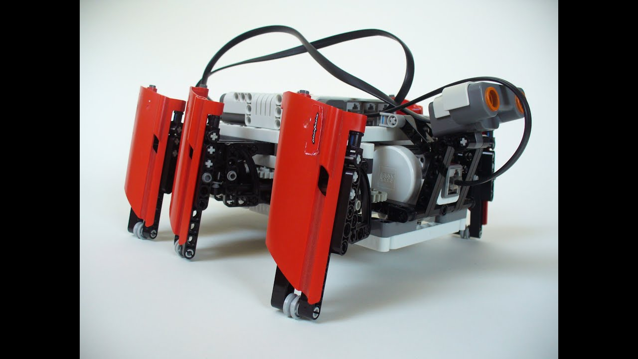 lego walking robot instructions