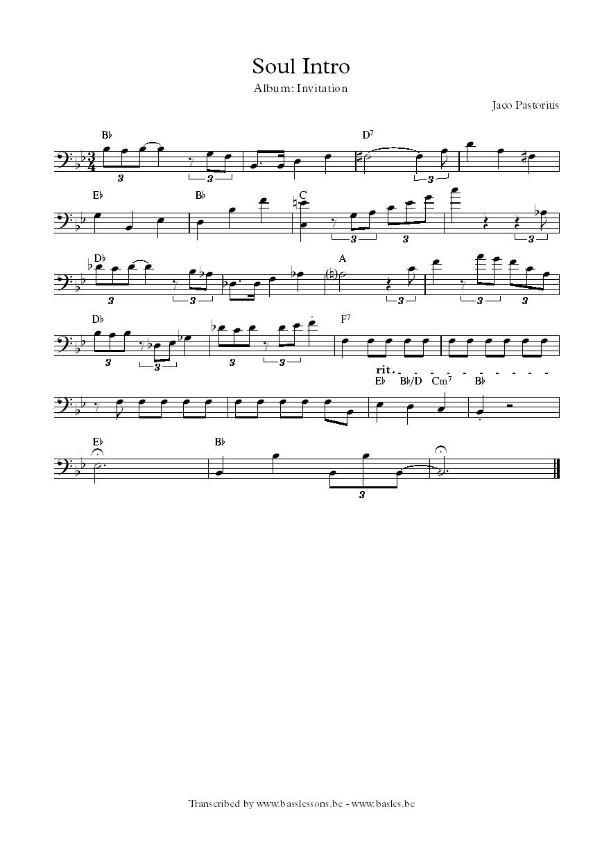 Level 42 bass transcriptions pdf