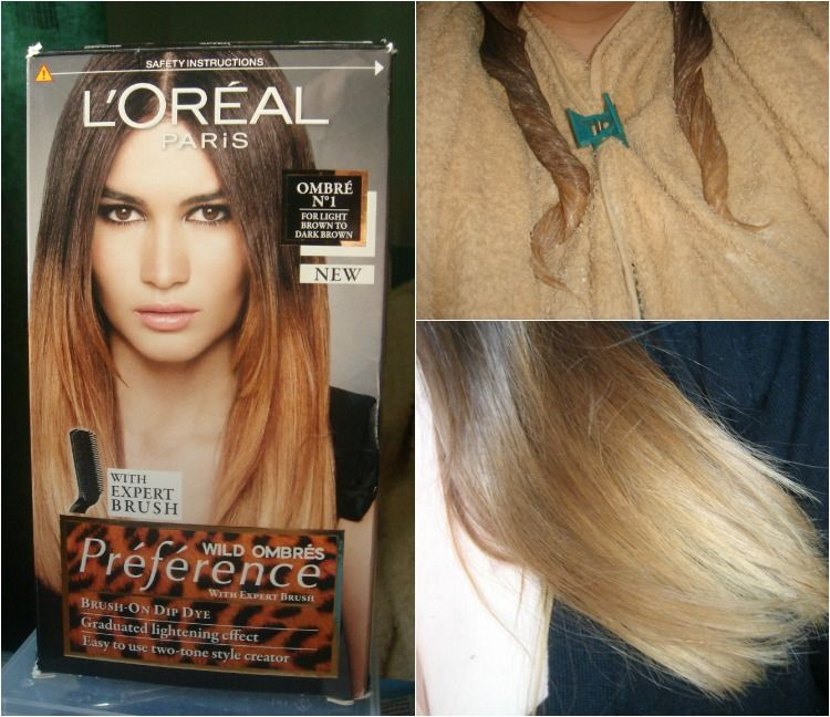 loreal preference ombre instructions