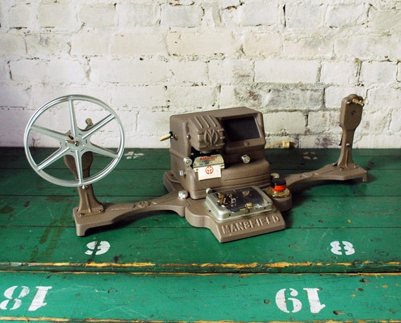 Mansfield 950 film editor instructions