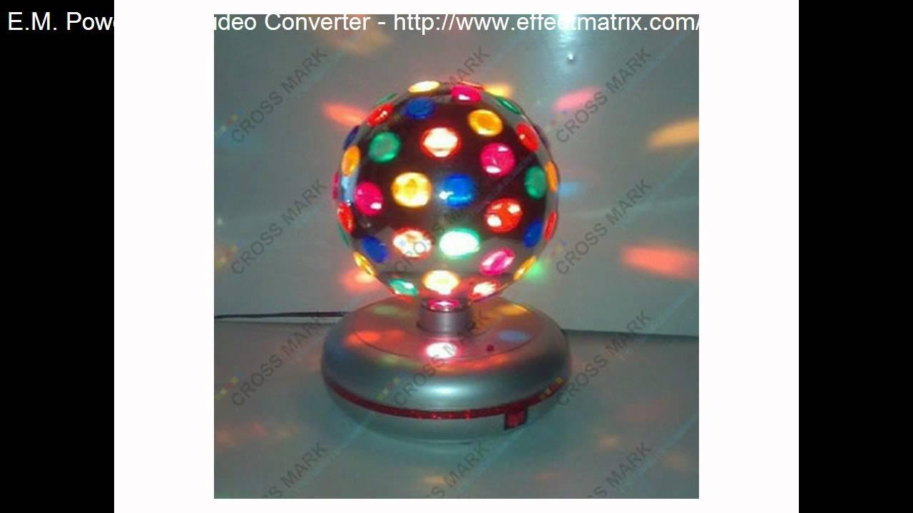 maplin led crystal ball instructions