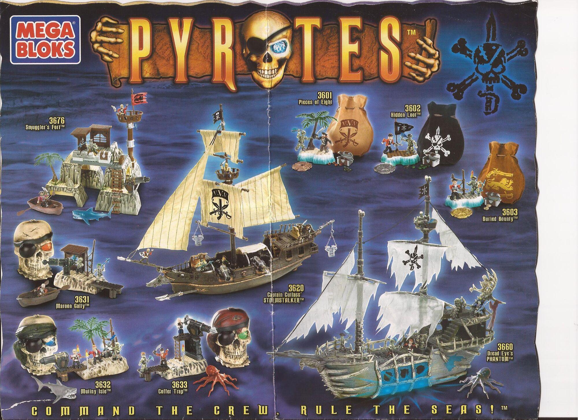 Mega bloks pyrates instructions