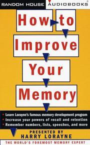 Memory book harry lorayne jerry lucas pdf