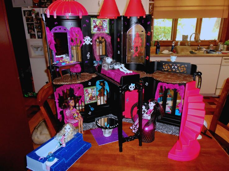 Monster high doll house instructions