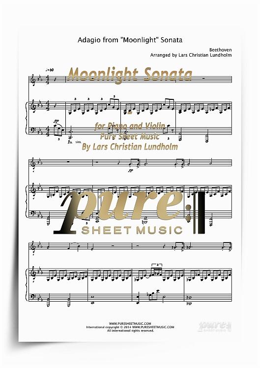 Moonlight sonata piano sheet pdf