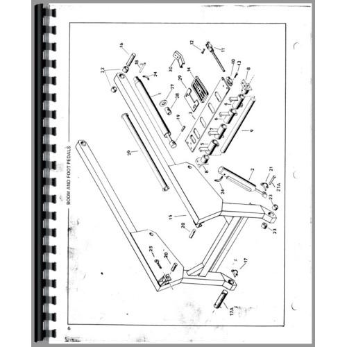 Mustang 1700 skid steer parts manual