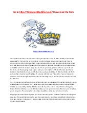 Pokemon essential handbook download