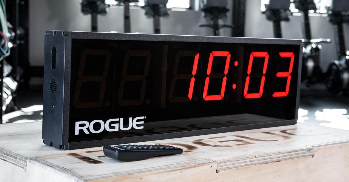 Rogue echo gym timer manual