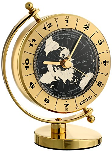 seiko world time clock instructions